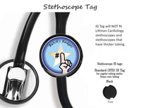 Prostate Cancer Awareness - Retractable Badge Holder - Badge Reel - Lanyards - Stethoscope Tag