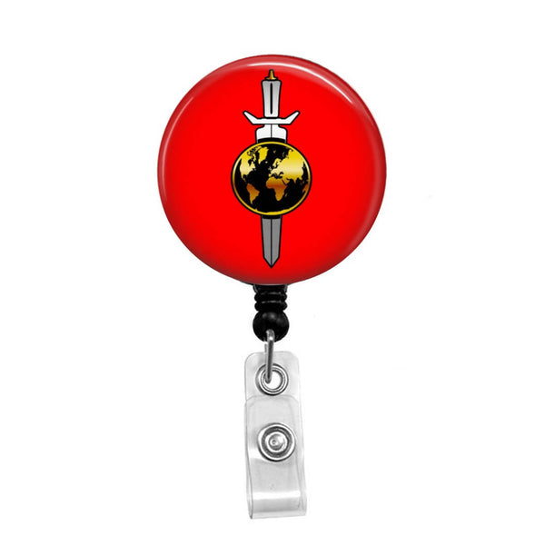 Star Trek, Original Terran Empire From TOS & Enterprise - Retractable Badge Holder - Badge Reel - Lanyards - Stethoscope Tag