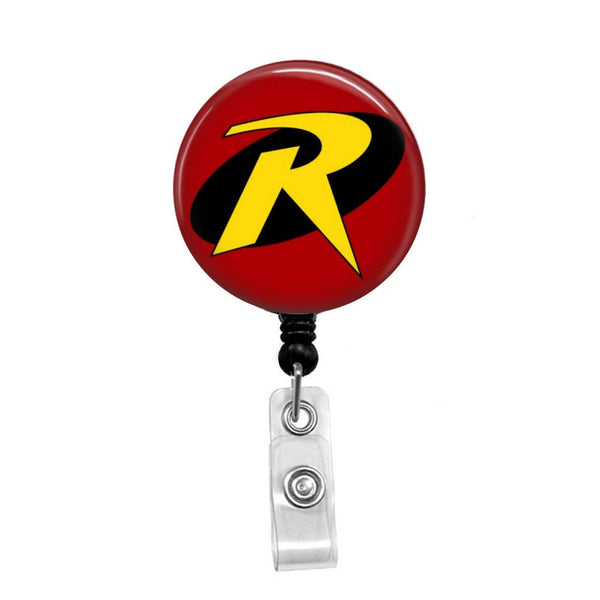 Robin of Batman & Robin - Retractable Badge Holder - Badge Reel - Lanyards - Stethoscope Tag