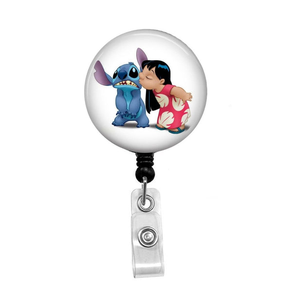 Lilo and Stitch - Retractable Badge Holder - Badge Reel - Lanyards - Stethoscope Tag
