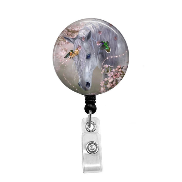 Unicorn - Retractable Badge Holder - Badge Reel - Lanyards - Stethoscope Tag
