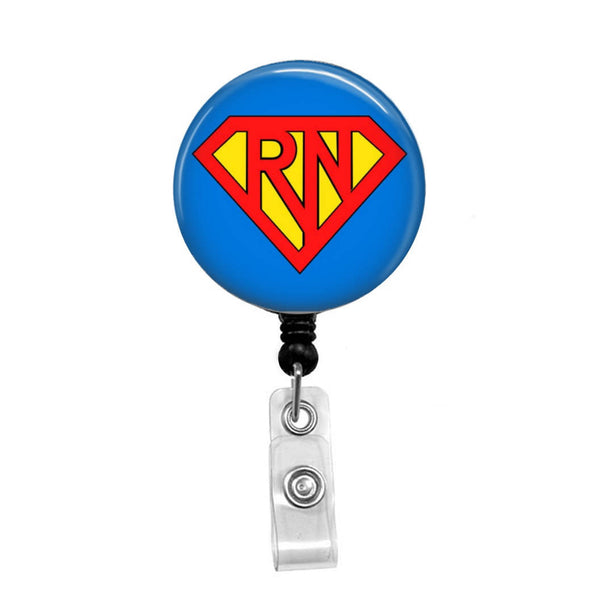 Super RN - Retractable Badge Holder - Badge Reel - Lanyards - Stethoscope Tag
