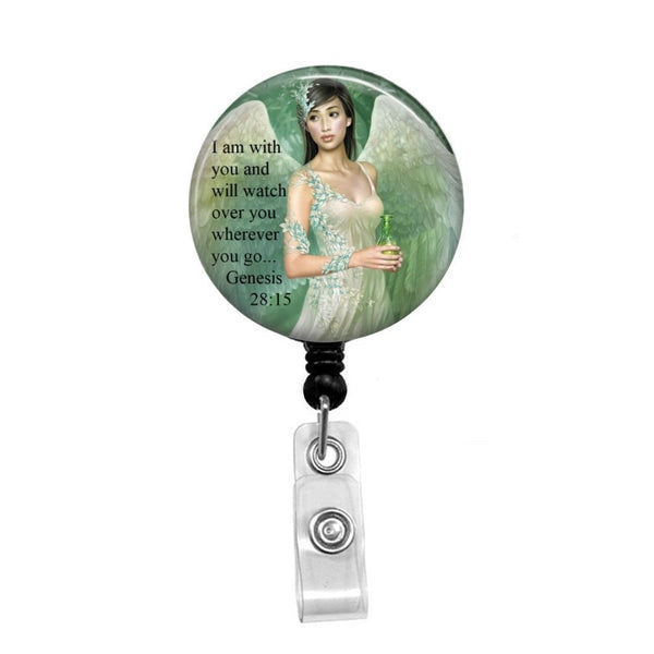 Guardian Angel - Retractable Badge Holder - Badge Reel - Lanyards - Stethoscope Tag