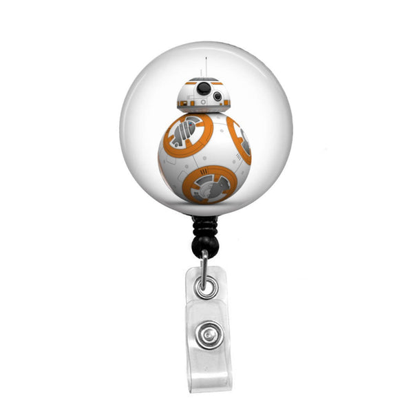 Star Wars, BB8 - Retractable Badge Holder - Badge Reel - Lanyards - Stethoscope Tag