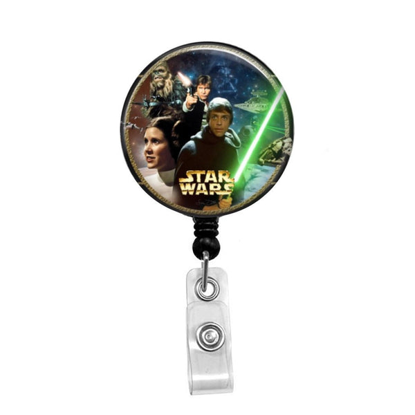 Star Wars - Retractable Badge Holder - Badge Reel - Lanyards - Stethoscope Tag