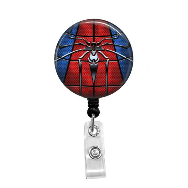 Spiderman - Retractable Badge Holder - Badge Reel - Lanyards - Stethoscope Tag