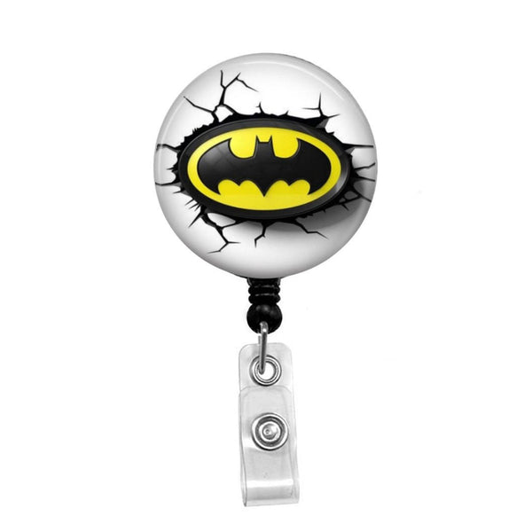 Batman - Retractable Badge Holder - Badge Reel - Lanyards - Stethoscope Tag