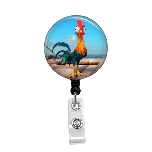 Moana Hei Hei  - Retractable Badge Holder - Badge Reel - Lanyards - Stethoscope Tag