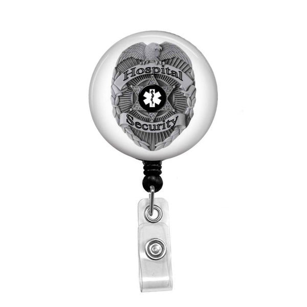 Hospital Security - Retractable Badge Holder - Badge Reel - Lanyards - Stethoscope Tag