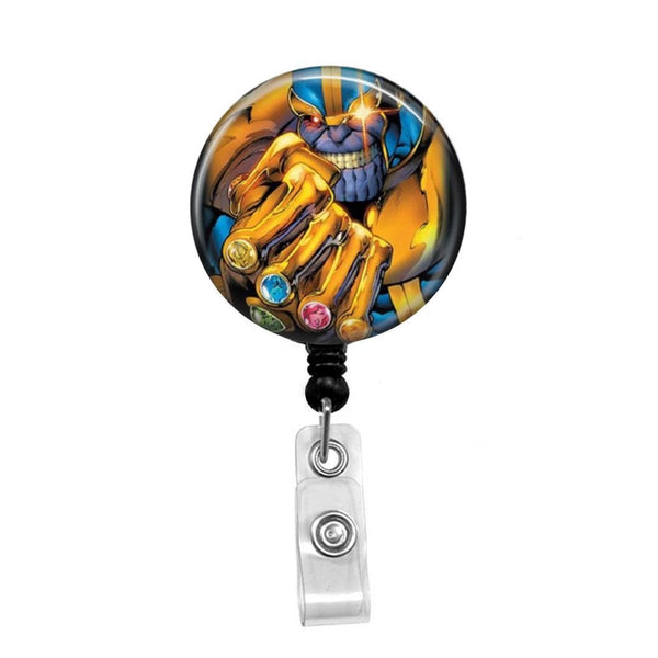 Thanos - Retractable Badge Holder - Badge Reel - Lanyards - Stethoscope Tag