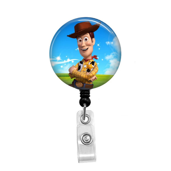 Woody from Toy Story - Retractable Badge Holder - Badge Reel - Lanyards - Stethoscope Tag