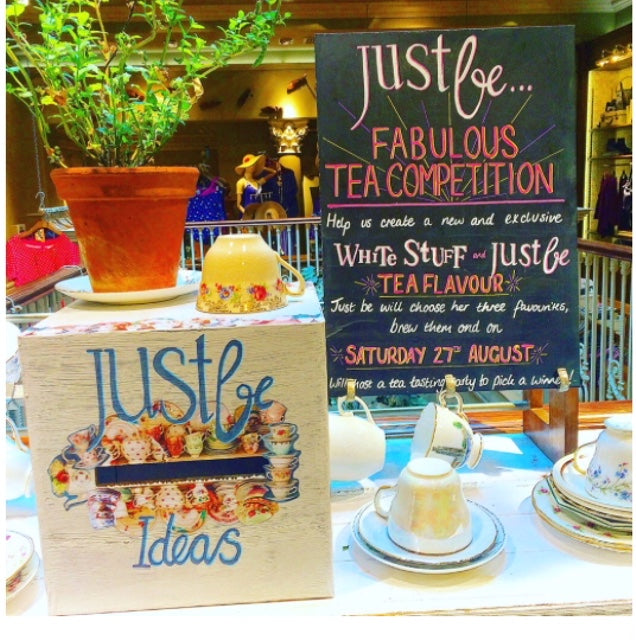 JustBe Fabulous Tea Competition