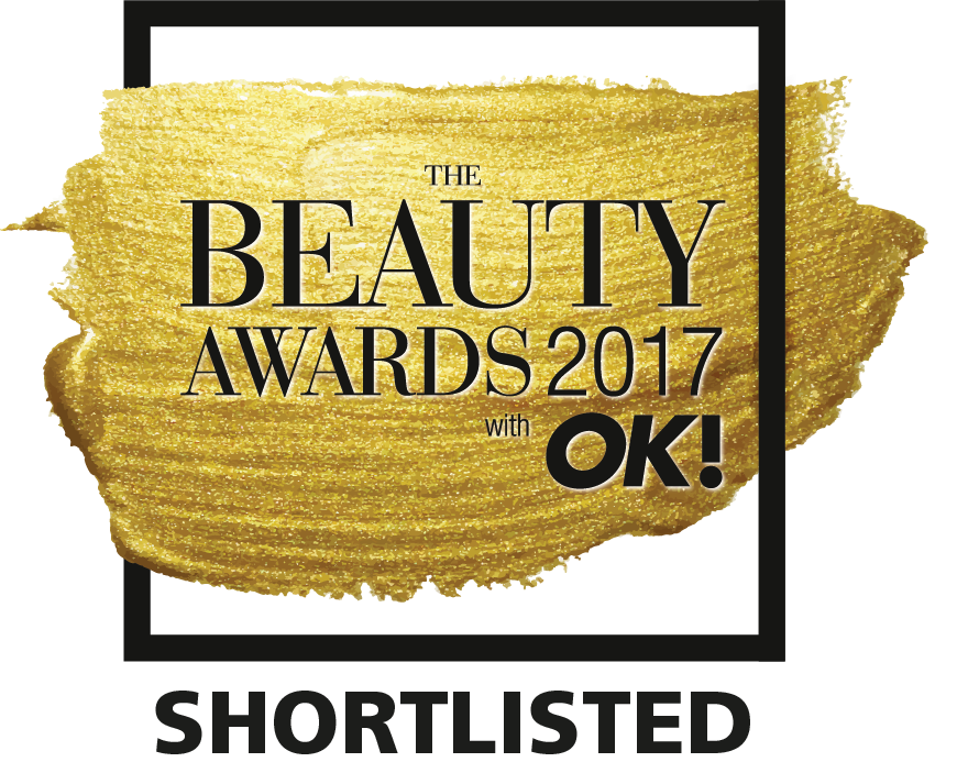 Shortlisted for OK! Beauty Awards