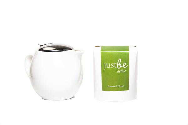Herbal Tea & Tea Pot-JustBe Botanicals-JustBe Botanicals