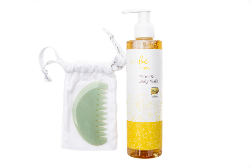 Comb Beauty Restorer with Happy Body Wash