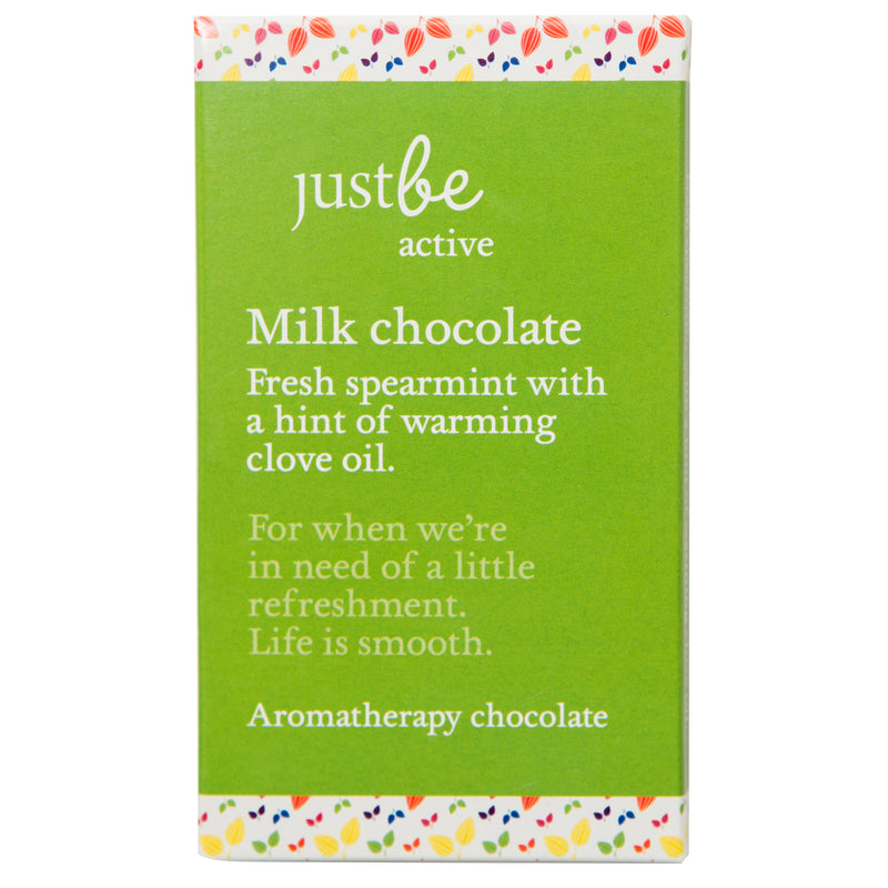 Active Aromatherpy Milk Chocolate Bar