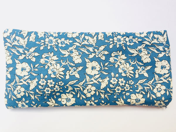Eye Comfort Cushion Liberty Print Blue-JustBe Botanicals-JustBe Botanicals