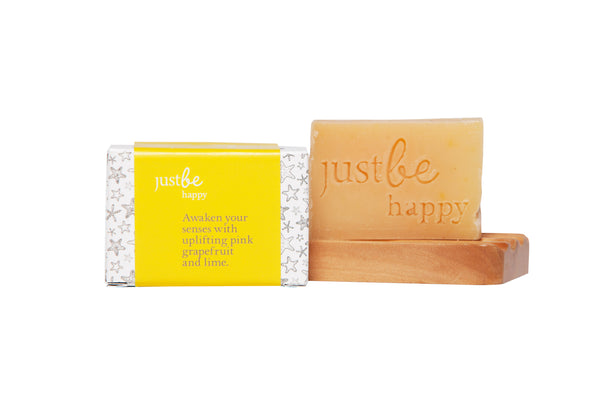 Happy Enriched Soap-JustBe Botanicals-JustBe Botanicals
