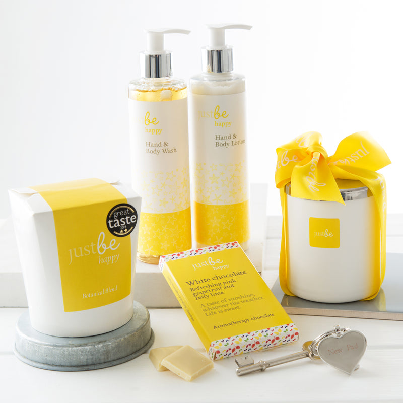 Happy at Home Hamper-JustBe Botanicals-JustBe Botanicals
