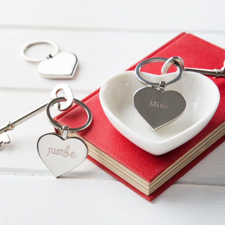 JustBe Mine Keyring & Chocolate