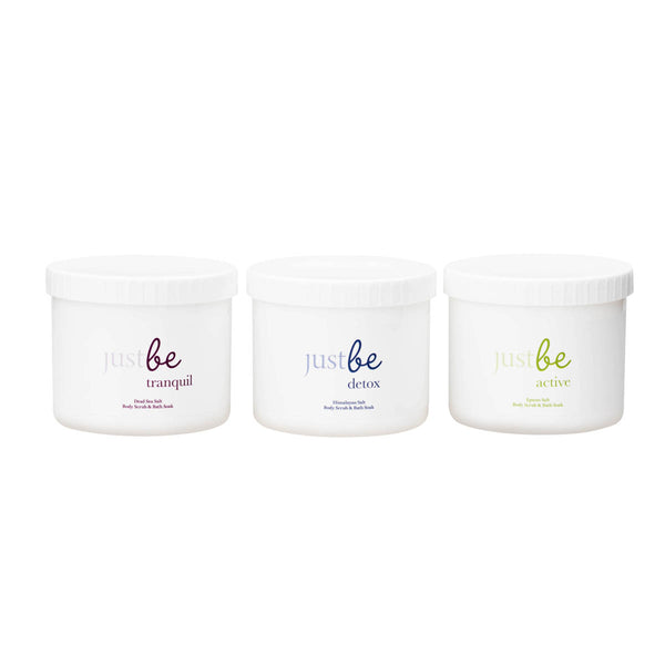 Salt Body Scrub & Bath Soak Collection