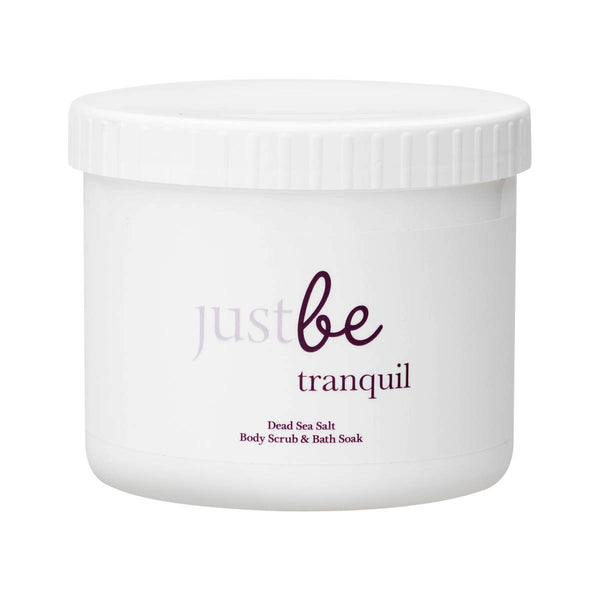 Tranquil Dead Sea Salt Salt Body Scrub & Bath Soak