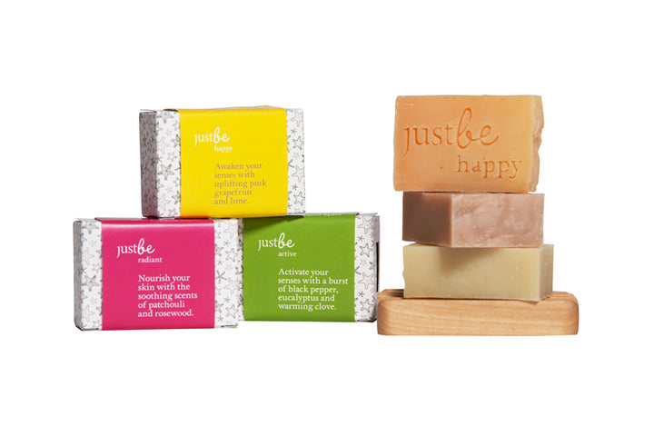 Enriched Soap Collection-JustBe Botanicals-JustBe Botanicals