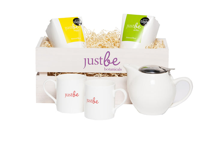 Happy & Active Herbal Tea Hamper-JustBe Botanicals-JustBe Botanicals