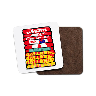Accrington Shirt Stack Coaster