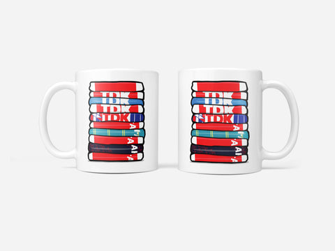 Ajax Shirt Stack Mug