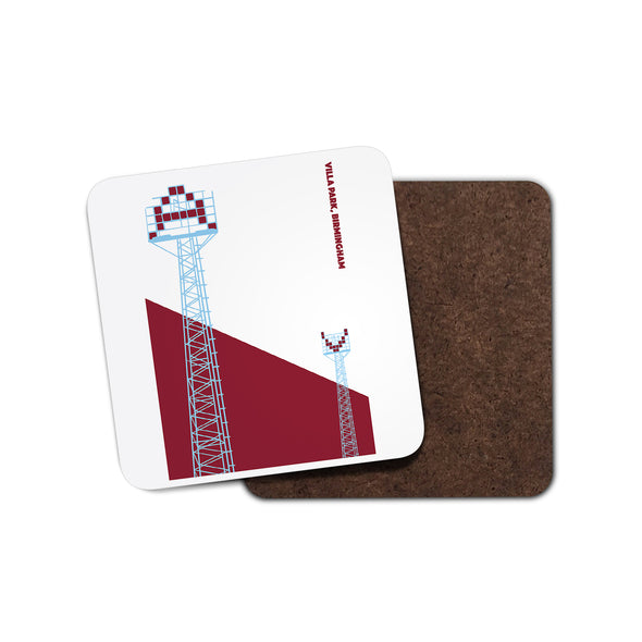 Aston Villa Floodlight Coaster