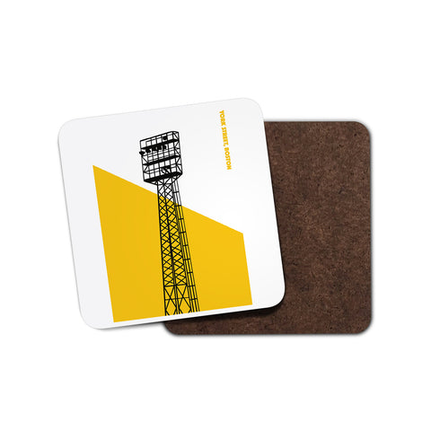 Boston United Floodlight Coaster