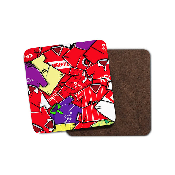 Bristol City Shirts Coaster