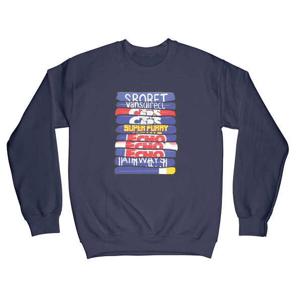Cardiff City Shirt Stack Sweatshirt