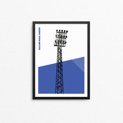 Chester Floodlights Print