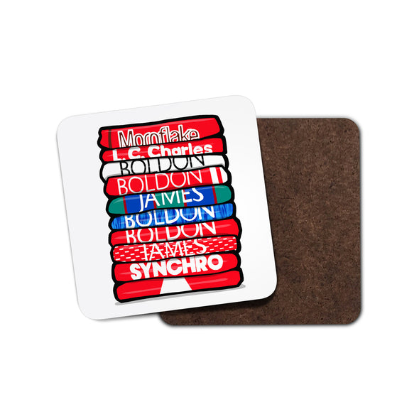 Crewe Shirt Stack Coaster
