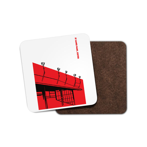 Exeter Floodlights Coaster
