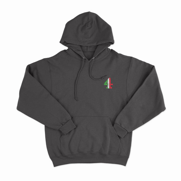 Football Italia Embroidered Hoodie