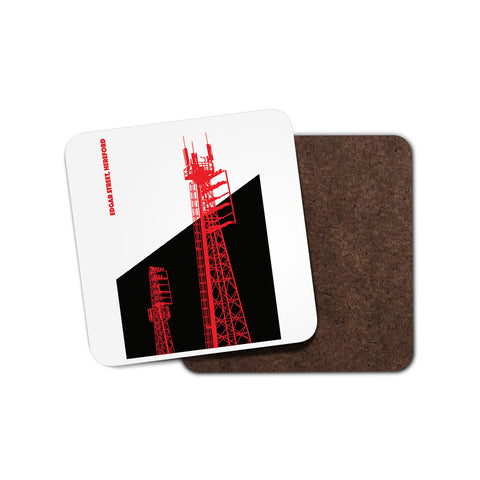 Hereford United Floodlights Coaster