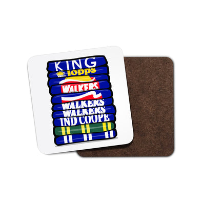 Leicester Shirt Stack Coaster