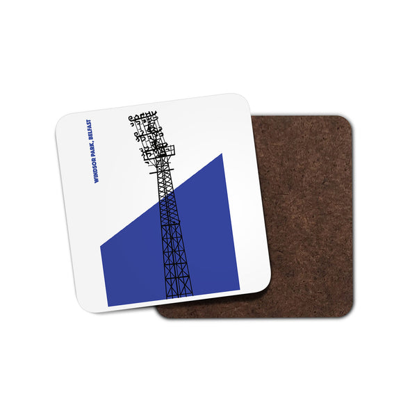 Linfield Floodlights Coaster