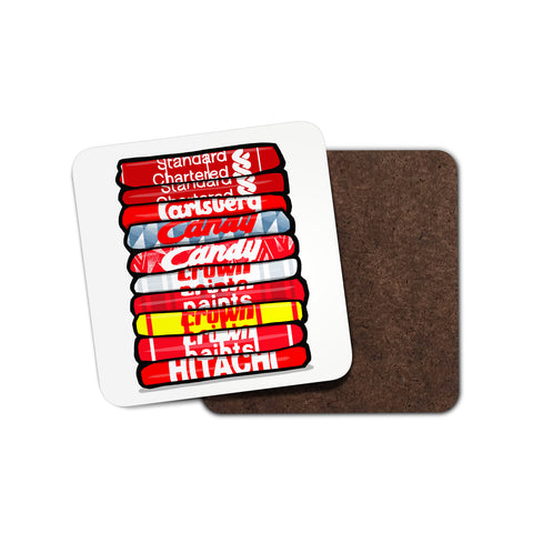 Liverpool Shirt Stack Coaster
