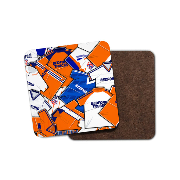 Luton Shirts Coaster