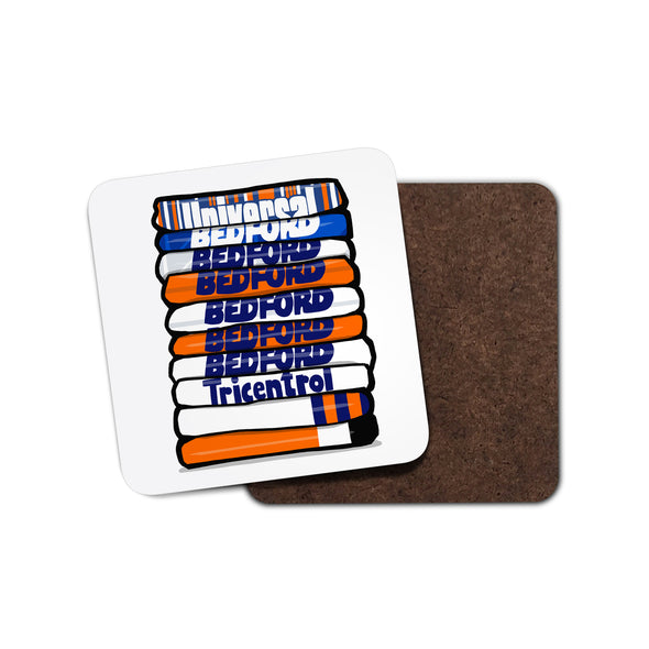 Luton Shirt Stack Coaster