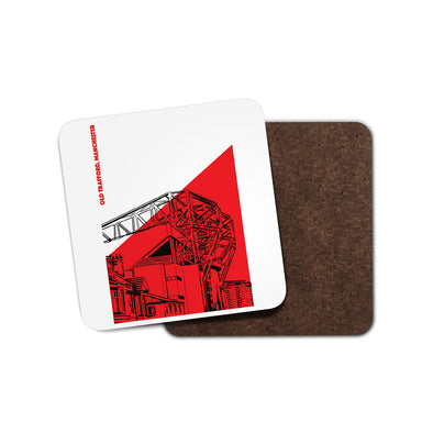 Manchester Utd Floodlights Coaster