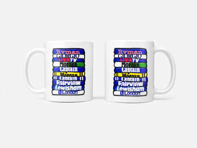 Millwall Shirt Stack Mug