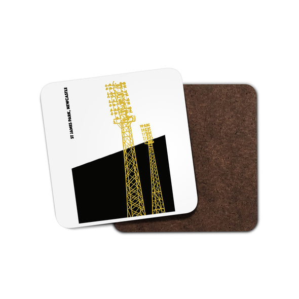 Newcastle Floodlights Coaster