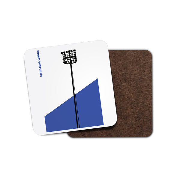 QPR Floodlights Coaster