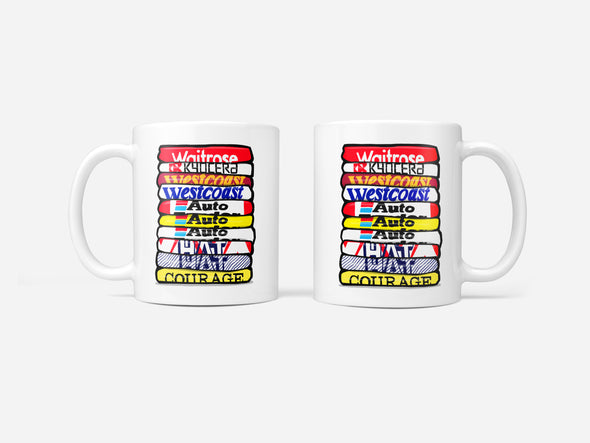 Reading Shirt Stack Mug