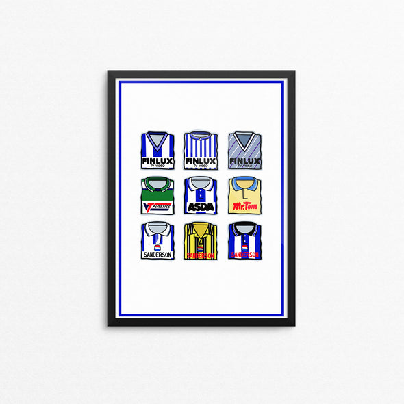 Sheffield Wednesday Print